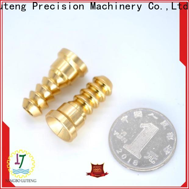 Luteng CNC Parts brass products factory for industry