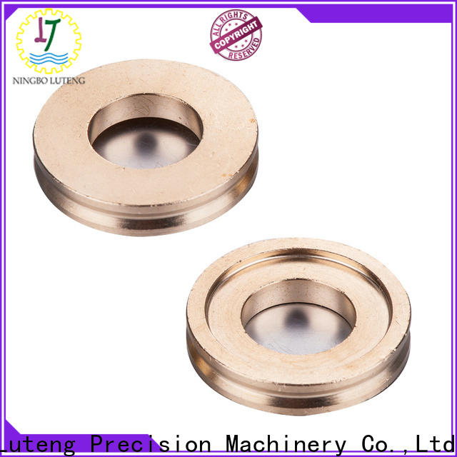 Luteng CNC Parts brass components well designed for factory