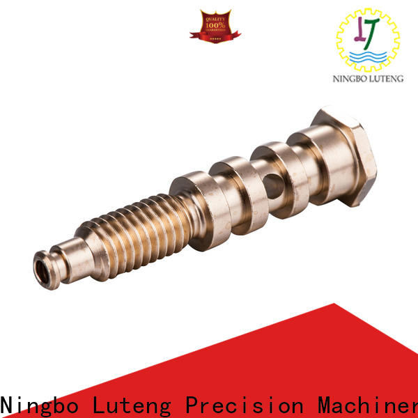 Luteng CNC Parts reliable brass components at discount for industry