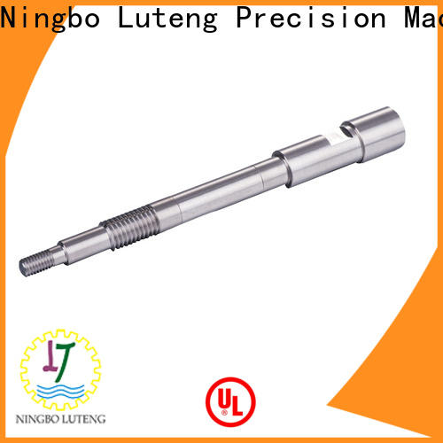 Luteng CNC Parts steel shaft with good price for electrical motor