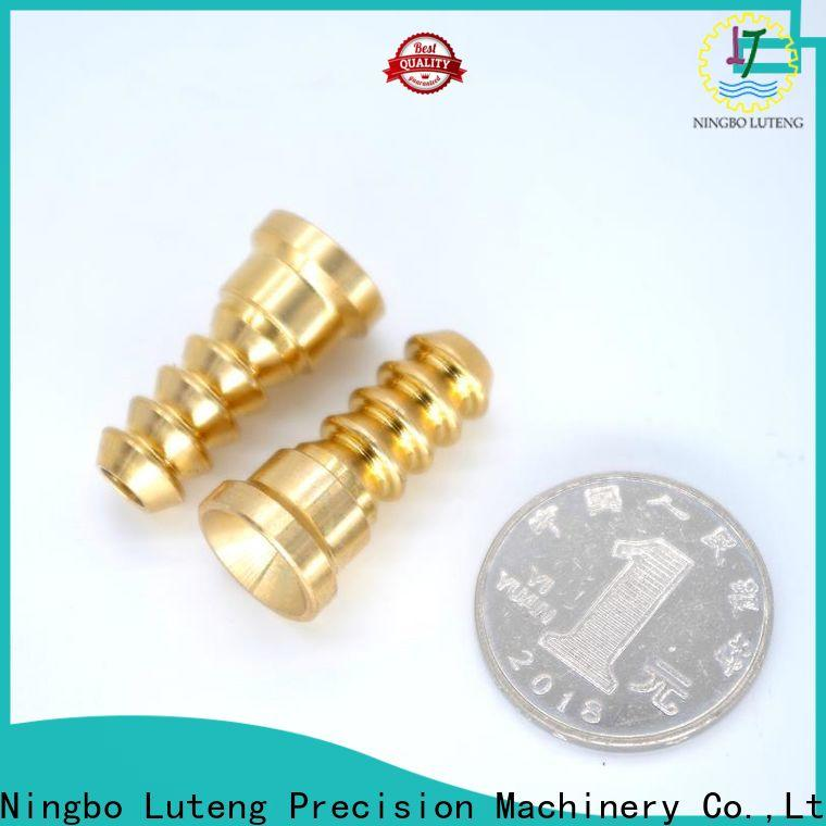 Luteng CNC Parts reliable copper part at discount for industry