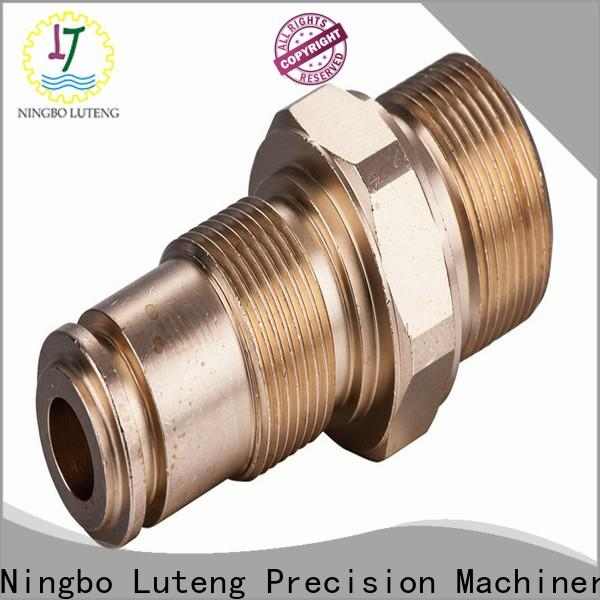 Luteng CNC Parts copper connector factory for factory