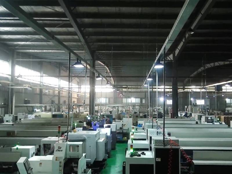 Swiss Type Lathe Workshop In Ningbo Luteng