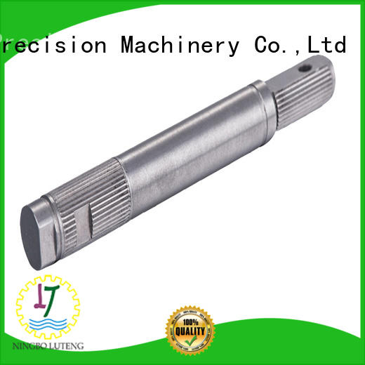 Luteng CNC Parts steel shaft factory for electrical motor
