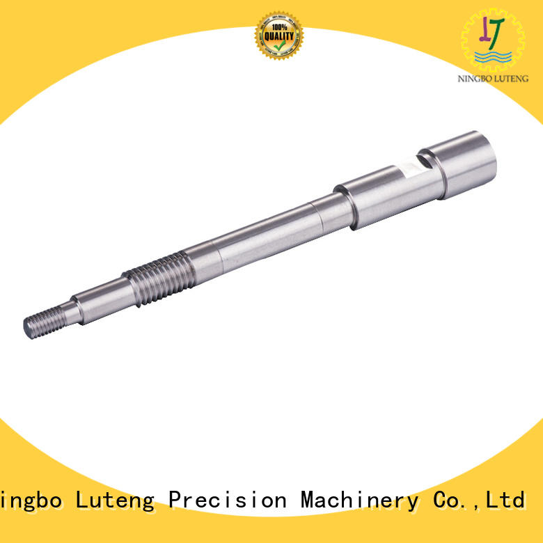 Luteng CNC Parts steel shaft factory for automobiles