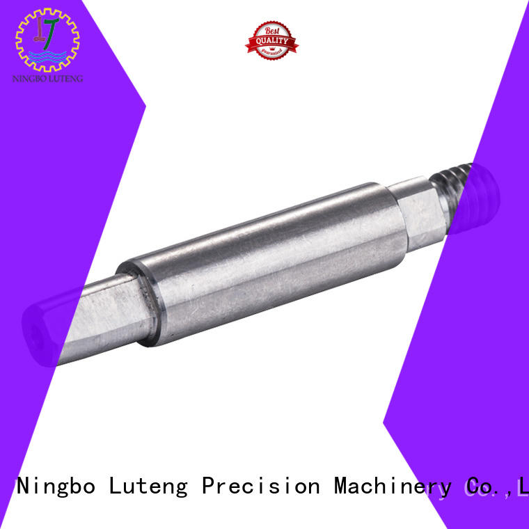 Luteng CNC Parts stainless steel steel shaft design for automobiles
