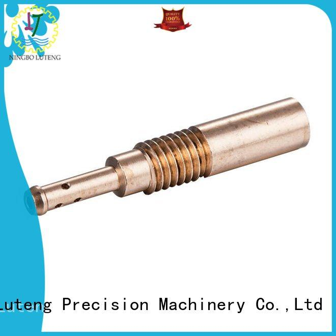 Luteng CNC Parts stable brass cnc turned parts supplier for factory