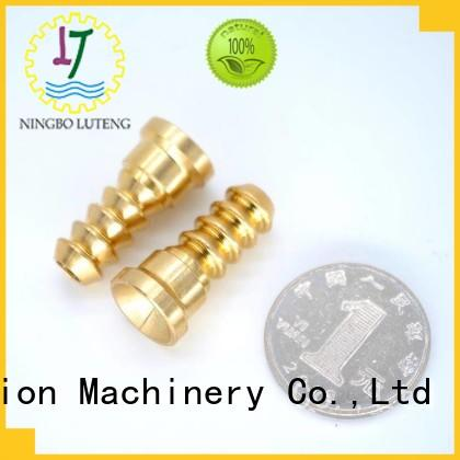 Luteng CNC Parts quality cnc turned parts factory price for machine